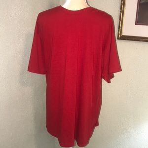 Hanes Men's New Red T-shirt Size 2XL
